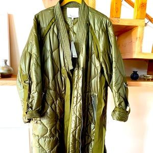 3.1 Phillip Lim Quilted Kimono Style Jacket